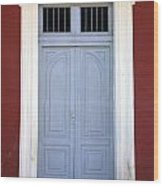 Doorway Of Nicaragua 010 Wood Print