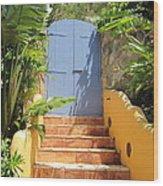 Doorway To Paradise Wood Print