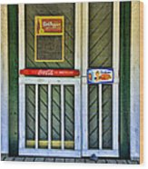 Doorway To The Past Wood Print by Kenny Francis