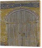 Doorway To The Service Dept. Wood Print