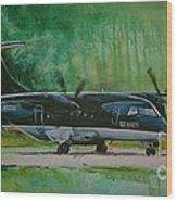 Dornier 328 Usairways Psa Wood Print