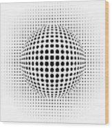 Dots Wood Print