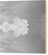 Dotted Background Texture Halftone Dots Wood Print
