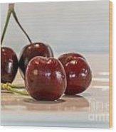 Double Cherry Wood Print