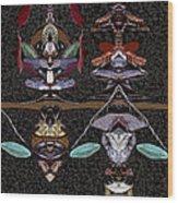 Double Totem Wood Print