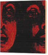 Double Vision 2 Wood Print
