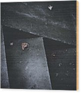 Doubt Wood Print