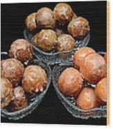 Dough Nut Holes Wood Print