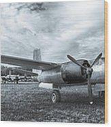 Douglas A-26 Invader 3770b Wood Print