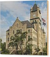 Douglas County Courthouse 2 Wood Print