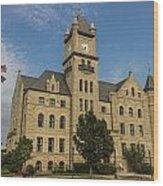 Douglas County Courthouse 4 Wood Print