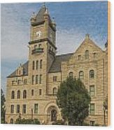 Douglas County Courthouse 5 Wood Print