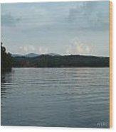 Douglas Lake Wood Print