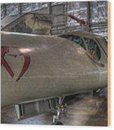 Douglas X-3 Stiletto Wood Print
