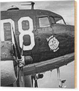 Douglass C-47 Skytrain - Nose Section - Dakota Wood Print