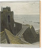 Dover Castle, From A Voyage Around Wood Print
