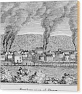 Dover, New Jersey, 1844 Wood Print