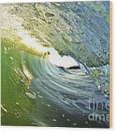 Down The Barrel Wood Print by Paul Topp