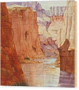 Down The Canyon - Day Two Wood Print