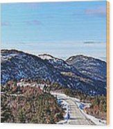 Down To The Sea - Oceanview - Hillview Wood Print