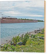 Downbound At Mission Point 3 Wood Print