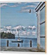 Downeast Maine Wood Print