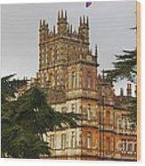Downton Abbey Vision # 4 Wood Print