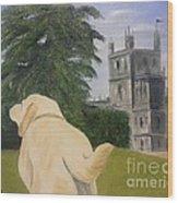 Downton Abbey Wood Print