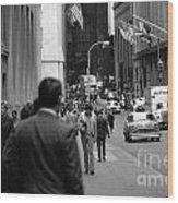 Downtown 1978 Wood Print by Bob Stone