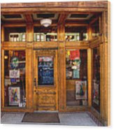 Downtown Athletic Club - Prescott Arizona Wood Print
