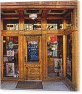 Downtown Athletic Club - Prescott Arizona Wood Print by David Patterson