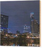 Downtown Austin Wood Print