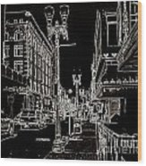Downtown By Angelia Wood Print