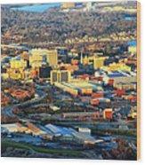 Downtown Chattanooga  Wood Print