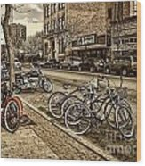 Downtown Coeur D'alene Idaho Wood Print