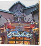 Downtown Disney Anaheim - 121210 Wood Print