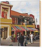 Downtown Disney Anaheim - 12126 Wood Print