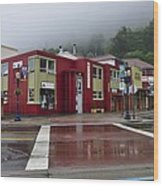 Downtown Juneau On A Rainy Day Photograph By Cathy Mahnke