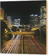 Downtown Richmond Wood Print