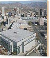Downtown Salt Lake City Wood Print