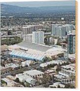 Downtown San Jose California Wood Print