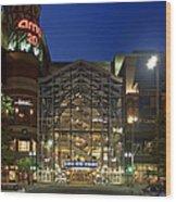 Downtown Spokane Washington Wood Print