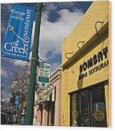 Downtown Walnut Creek California Wood Print