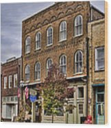 Dowtown General Store Wood Print