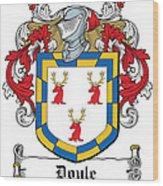 Doyle Coat Of Arms Wicklow Ireland Wood Print