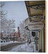 Doylestown Inn Wood Print