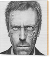 Dr. Gregory House - House Md Wood Print