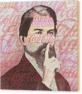 Dr. John Pemberton Inventor Of Coca-cola Wood Print