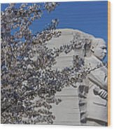 Dr Martin Luther King Jr Memorial Wood Print