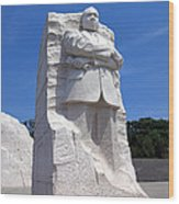 Dr Martin Luther King Memorial Wood Print